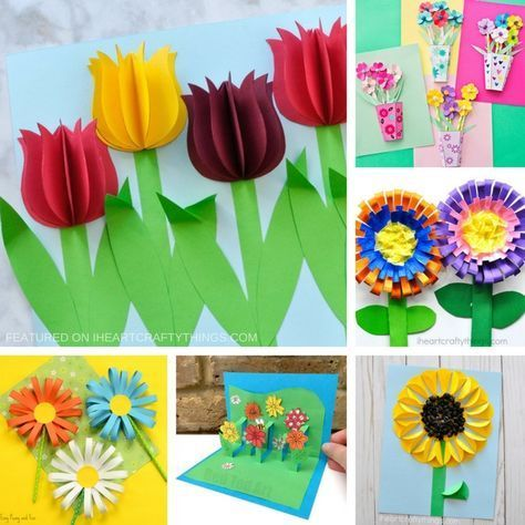 Beautiful 3d Flower Crafts For Kids Flower Crafts Paper Flowers