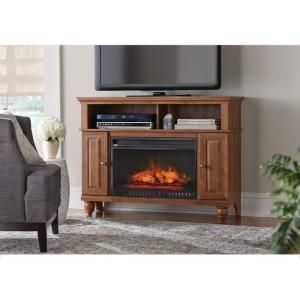 Real Flame Frederick 72 In Freestanding Electric Fireplace Tv Stand Entertainment Center In White 7740e W The Home Depot Electric Fireplace Tv Stand Electric Fireplace Fireplace Tv Stand
