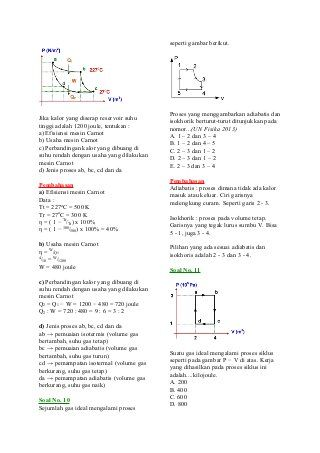 Contoh Soal Dan Pembahasan Termodinamika Dan Physics Abs
