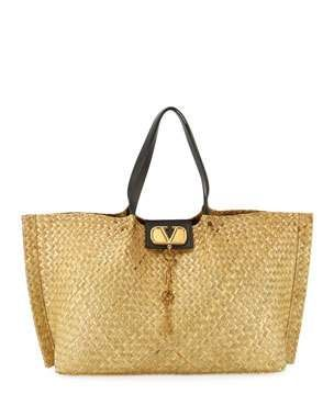 e4633ad9aaa Valentino Garavani Go Logo Escape Large Tote Bag, Neutral | FAV All ...
