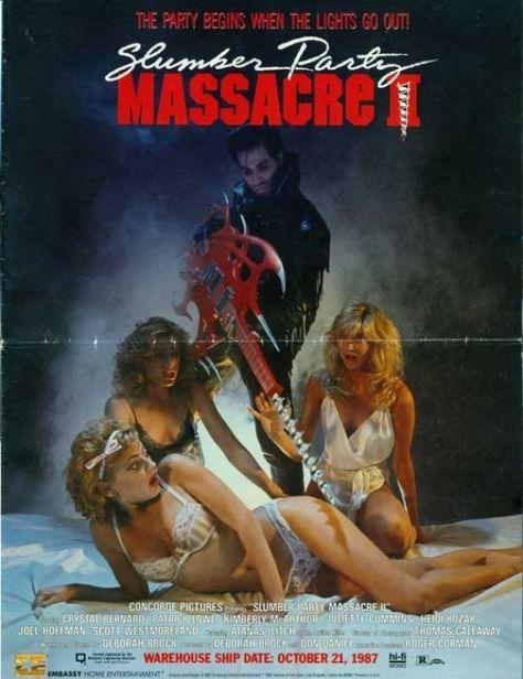 The Slumber Party Massacre Movie Poster Print (27 x 40)