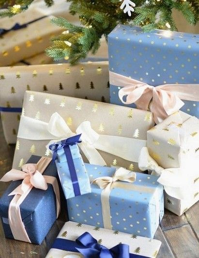 33 Elegant Christmas Gift Wrapping Ideas You Can Make Yourself Pinterest Christmas Gifts Christmas Gift Wrapping Gift Wrapping