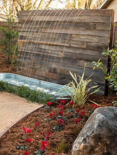 Décoration de jardin avec une fontaine pour bassin | Crafts | Ponds ...