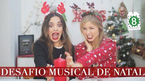 ADIVINHA A MÚSICA DE NATAL com Alice Trewinnard | A Maria Vaidosa