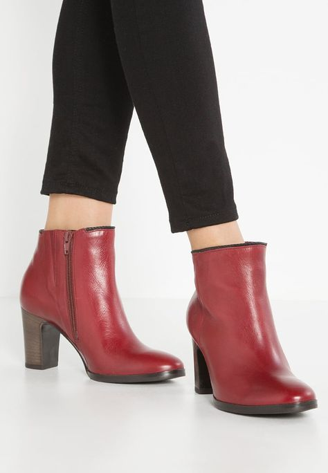 gabor shoes online, Women Gabor Ankle boots red, gabor