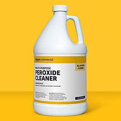 Amazon Com Amazoncommercial Multi Purpose Peroxide Cleaner Concentrate 1 Gallon 2 Pack Industrial Scienti In 2020 Enzyme Cleaner Cleaning With Peroxide Cleaners