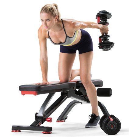 Sports Outdoors Adjustable Workout Bench Bowflex Home Gym Bench