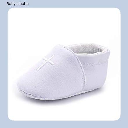 Taufschuhe Babyschuhe Junge Mädchen weiß