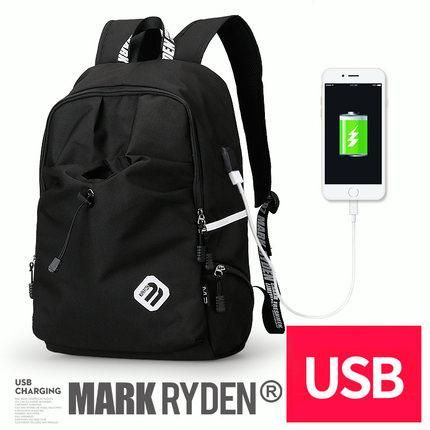 Student Backpack with Laptop Compartment and USB Charging Port by ...