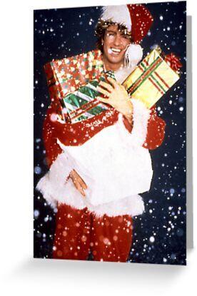Last Christmas 2021 Last Christmas Greeting Card By Ornamentallyyou In 2021 George Michael Christmas George Michael George Michael 80s
