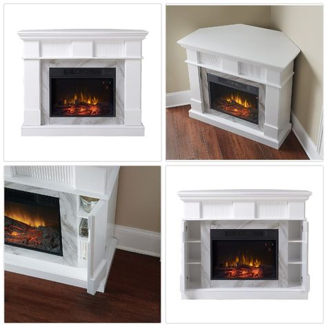 45 Inch Tv Stand With Fireplace Media Console Electric