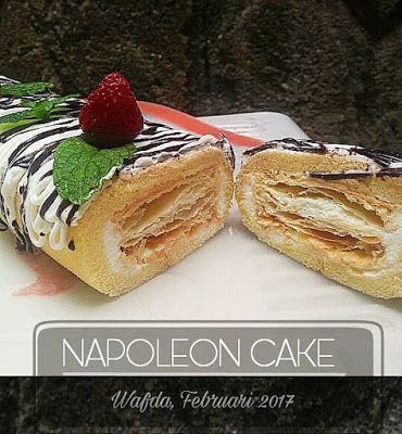 Resep Napoleon Cake Ala Resto By Dapurwafda Napoleon Cake Cake Recipes Recipes