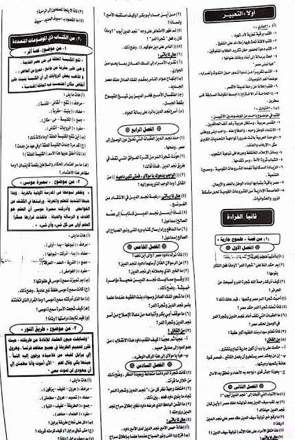 حمل أهم الاسئلة المتوقعة لامتحان اللغة العربية الصف الثالث الاعدادى 2020 Bullet Journal Journal