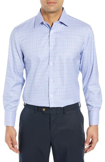 New English Laundry Regular Fit Plaid Dress Shirt Online Shopping