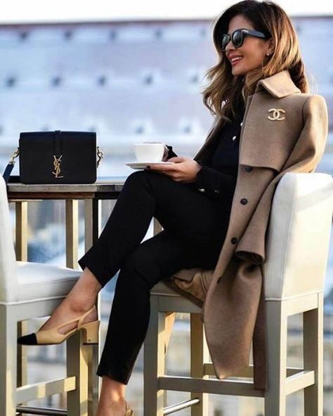 Classy business outfit 52 Cozy Winter Outfits for Business Woman