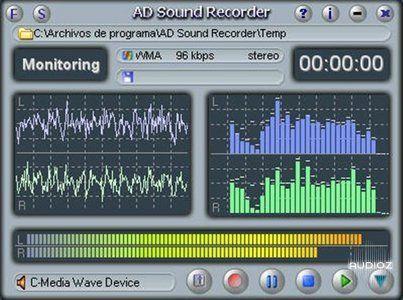 برنامج تسجيل الصوت على الكمبيوتر AD Sound Recorder 5.7.3