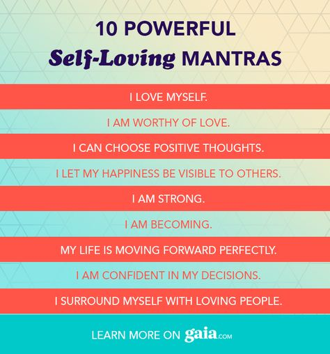 10 Daily Mantras for Self-Love & Positive Affirmations | Gaia