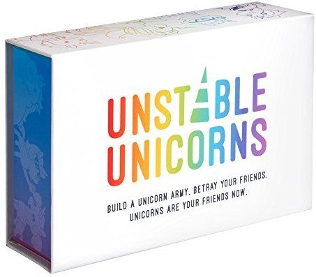 Amazon Com Unstable Unicorns Base Game Toys Games Unicorn