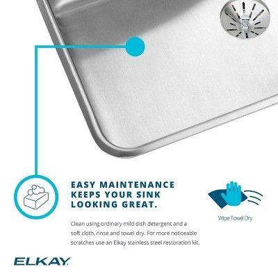 Elkay KF ELUH1814 Stainless Steel