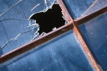 How To Temporarily Fix A Broken Window Pane Broken Window Window Repair Window Pane