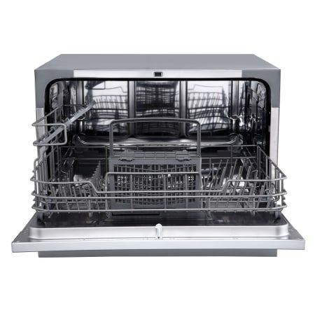 Edgestar Dwp62sv Silver 22 Inch Wide 6 Place Setting Energy Star Rated Countertop Dishwasher Small Dishwasher Countertop Dishwasher Portable Dishwasher