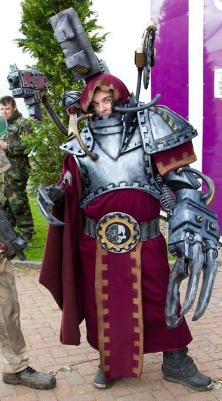 Adeptus Mechanicus costume by JFXProps