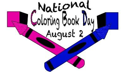 Celebrate National Coloring Book Day On August 2nd A Day To Relax And Color Loveart Stress Reliever Nationalcoloringbookday Coloring Books Day Color