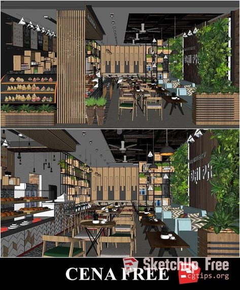 853 Interior Scene Sketchup Model By Nhat Phong Free Download
