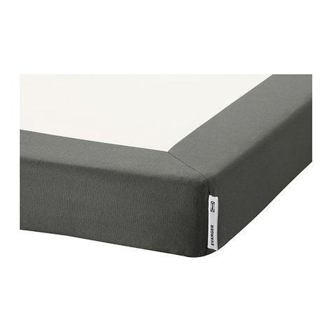 Evanger Base De Colchon Ikea Como La Funda Se Puede Quitar Y Lavar A