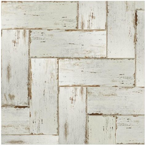 Merola Tile Retro Blanc 8 1 4 In X 23 1 2 In Porcelain Floor And Wall Tile 11 22 Sq Ft Case Fnurt8b Wood Look Tile Porcelain Wood Tile Wood Tile Floors