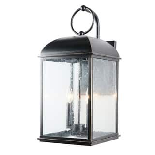 Buy Black Brown Bronze Finish Wall Lanterns Outdoor Wall Lighting Online At Overstock Com Our Best Outdoor Outdoor Wall Lantern Wall Lantern Outdoor Walls