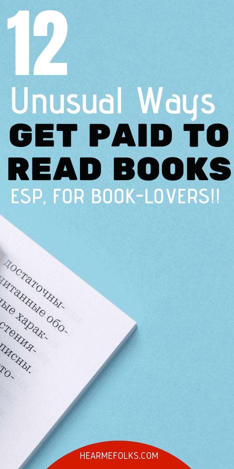 Get Paid to Read Books: 30 Easy Ways In 2021 [$60/Read] | HearMeFolks