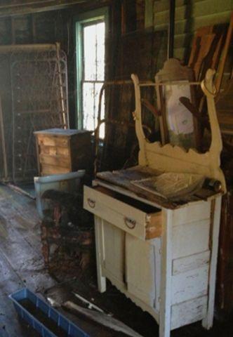 Old Dresser In The Attic