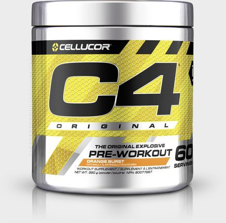 Cellucor C4 Original Pre Workout Powder Energy Drink Supplement With Creatine Nitric Oxide Beta Alanine Orange Burs Cellucor Preworkout