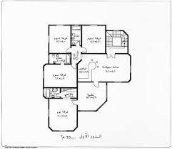 نتيجة بحث الصور عن تخطيط بيت دور واحد House Floor Design Classic House Design Family House Plans