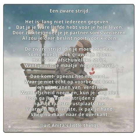 Pin Van Elsenpiet Op Spreuken Gedicht Citaten