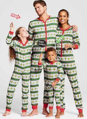 Family Christmas Pajamas 2019.Us 14 99 Print Matching Family Christmas Pajamas