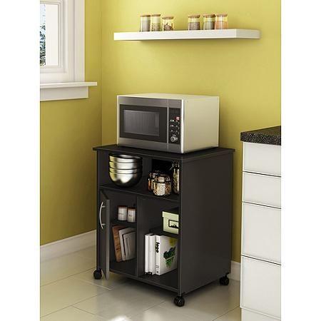 24 microwave cart storage ideas
