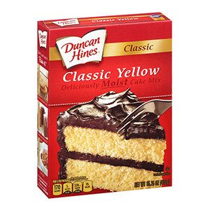 Duncan Hines Cake Mix In 2020 Boxed Cake Mixes Recipes Cake Mix Yellow Cake Mix Recipes