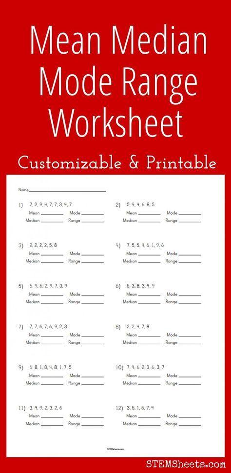 21+ Finding the mean worksheet Information