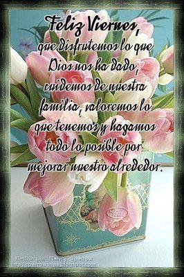 Pin De Rosana Araceli En Viernes Feliz Viernes Buenos Dias