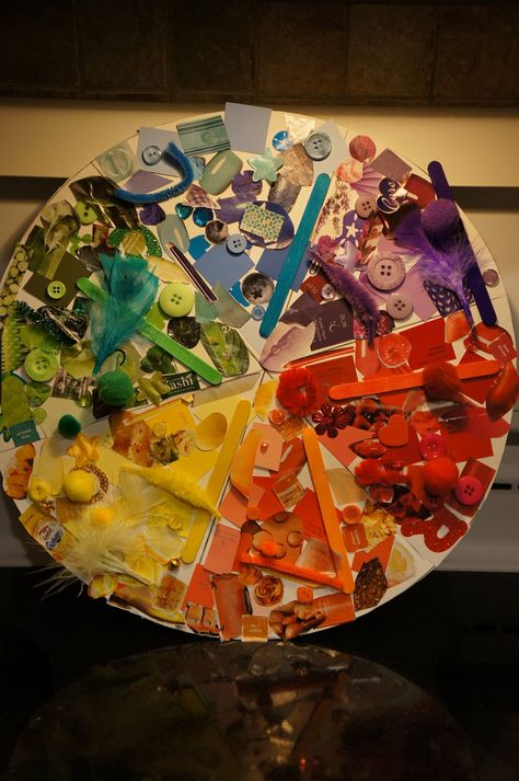 Playful Learning in the Early Years: Co-created Colour Wheel #preschool #colors