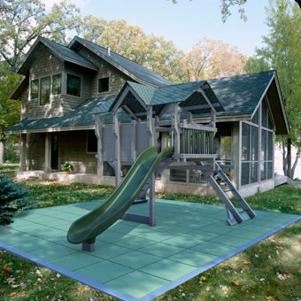 I Like This Flooring   Tiles..want For Under The Swing Set In The Back Yard  | Landscaping | Pinterest | Rubber Mulch, Playground And Backyard Playground