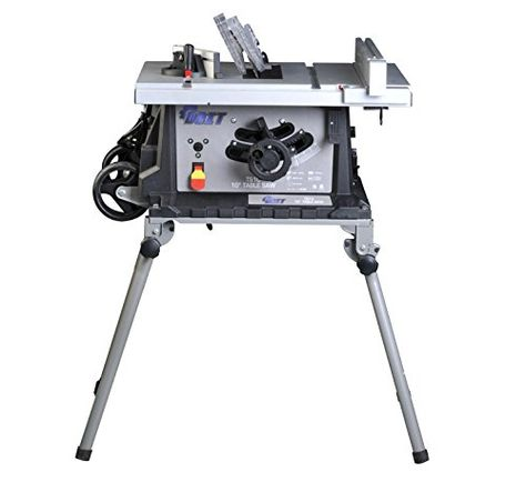 Ainfox 15amp 10 Table Saw Foldable Stand With Wheels Fence Movable 4800 Min Speed Review Best Portable Table Saw Best Table Saw Table Saw