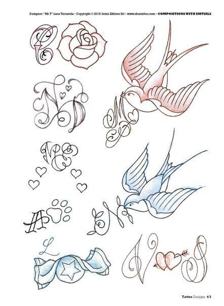 Pin By Besttattooideas On Caligrafia In 2020 Initial Tattoo Tattoo Lettering Music Tattoo Designs