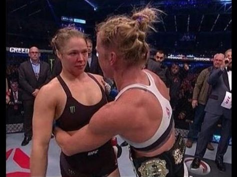 Holly Holm On What She Said To Ronda Rousey After Fight Steroid