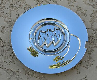 2008-2010 Buick Enclave Chrome OEM Center Cap P//N 9597105