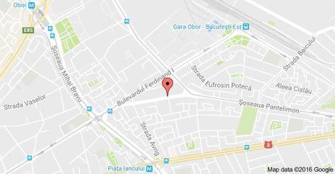 Harta Pentru Strada Ritmului 35 București Map