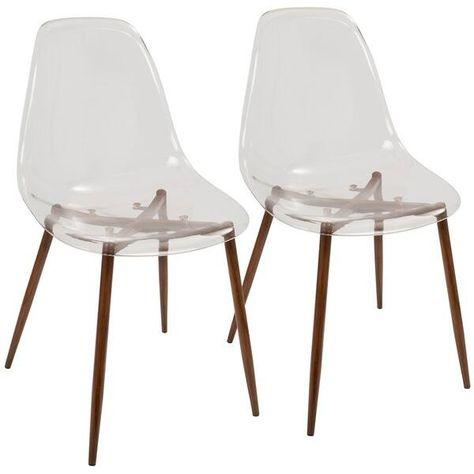 Carson Carrington Dusekarr Mid Century Modern Dining Chairs Set