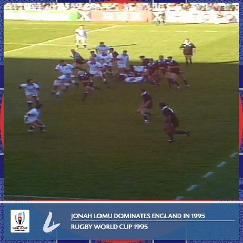 Jonah Lomu Vs England What More Has To Be Said Sports Jonah Lomu Rugby World Cup England